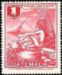 Stamps Guatemala -  Indigena