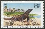 Stamps France -  INDONESIA - Parque Nacional de Komodo