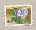 Stamps El Salvador -  Hortensia