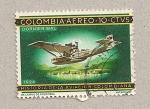 Stamps Colombia -  Avión dornier Wal