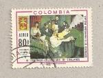 Stamps Colombia -  VI Congreso de Cirujanos