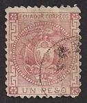 Sellos de America - Ecuador -  Escudos