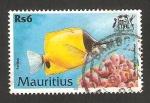 Stamps Africa - Mauritius -  pez pavillon