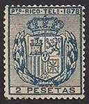 Stamps Puero Rico -  Escudo