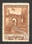 Stamps : America : Dominican_Republic :  ruinas de la iglesia de san francisco en la ciudad de trujillo