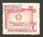 Stamps : America : Dominican_Republic :  50 anivº de rotary internacional