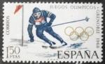 Stamps : Europe : Spain :  X Juegos Olímpicos de Invierno de Grenoble