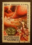 Stamps Africa - Guinea -  150 aniversario del nacimiento de Julio Verne