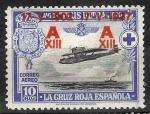 Stamps Spain -  364 XXV Aniv.º de la Jura de la Constitución por Alfonso XIII.