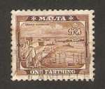 Stamps : Europe : Malta :  puerto de la valette