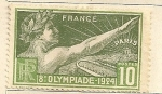 Stamps Europe - France -  Juegos Olimpicos 1924