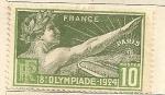 Sellos de Europa - Francia -  Juegos Olimpicos 1924