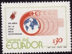 Stamps America - Ecuador -  125 años de la cruz roja Ecuatoriana