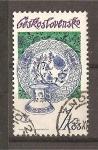 Stamps Czechoslovakia -  Porcelana de Checoslovaquia.