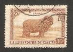 Stamps : America : Argentina :  ganadería lanar, un carnero