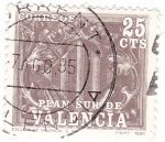 Stamps Spain -  Plan Sur de Valencia