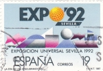Stamps Spain -  Expo 92