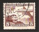 Stamps : America : Chile :  avión y tren