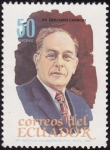 Stamps : America : Ecuador :  Dr. Benjamin Carrion