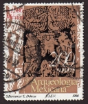 Sellos de America - México -  Arqueologia Mexicana