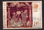 Sellos de Europa - Reino Unido -  English Embroidery    C.1320