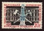 Stamps Iceland -  177 Aniv. de la escuela de MIneria