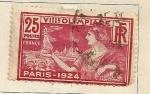 Sellos del Mundo : Europa : Francia : Juegos Olimpicos 1924