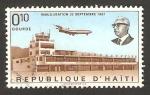 Stamps America - Haiti -  anivº del aeropuerto francois duvalier en puerto príncipe