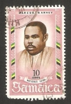 Sellos de America - Jamaica -  marcus garvey, héroe nacional