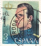 Sellos de Europa - España -  Rey D. Juan Carlos I