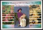 Stamps America - Belize -  85 Cumleaños de la Reina Madre