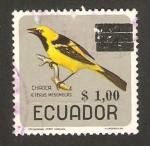 Sellos del Mundo : America : Ecuador : pájaro chiroca