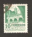 Stamps : America : Mexico :  Convento dominico de Morelos