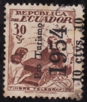 Stamps Ecuador -  Pro turismo