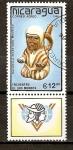 Stamps Nicaragua -  Encuentro de dos Mundos
