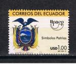 Sellos del Mundo : America : Ecuador : Upaep  Simbolos Patrios