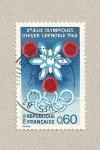 Stamps France -  Juegos Olímpicos Grenoble
