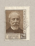 Stamps Argentina -  Florentino Ameghino