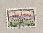 Sellos de America - Honduras -  Revolución Octubre 1956