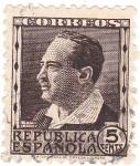 Sellos de Europa - España -  Republica Española. Blasco Ibañez