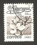 Stamps : America : Nicaragua :  flor bixa orellana