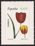 Stamps Spain -  Flora y Fauna-Tulipan