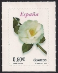 Stamps : Europe : Spain :  Flora y Fauna-Camelia