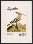 Stamps : Europe : Spain :  Flora y Fauna-Abubilla