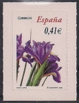 Stamps of the world : Spain :  Flora y Fauna-Lirio