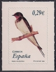 Stamps : Europe : Spain :  Flora y Fauna-Golondrina