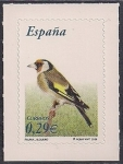Stamps of the world : Spain :  Flora y Fauna-Jilguero