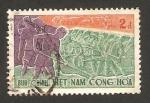Stamps : Asia : Vietnam :  trabajando en el campo, braceros