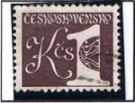 Stamps Czechoslovakia -  Cifras