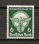 Stamps Germany -  III Reich / 2 Concurso Profesional de las Juventudes Obreras.